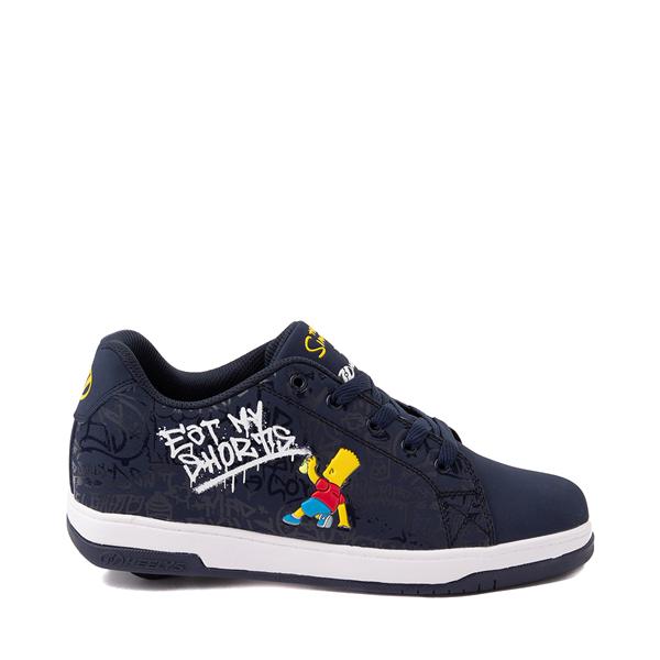 Main view of Mens Heelys x The Simpsons Split Skate Shoe - Navy