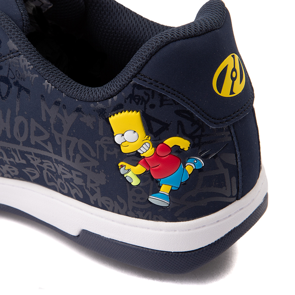 alternate view Mens Heelys x The Simpsons Split Skate Shoe - NavyALT4B