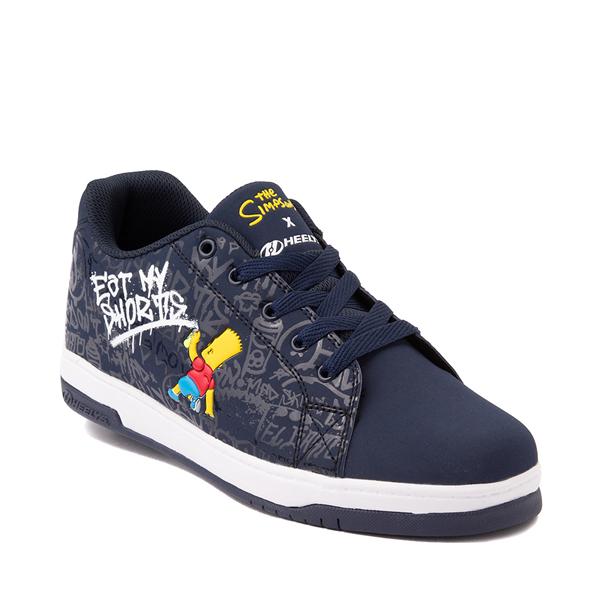 alternate view Mens Heelys x The Simpsons Split Skate Shoe - NavyALT5