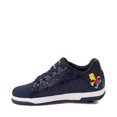 Alternate view of Mens Heelys x The Simpsons Split Skate Shoe - Navy