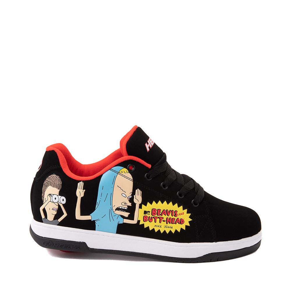 Mens Heelys x Beavis and Butt-Head Split Skate Shoe - Black