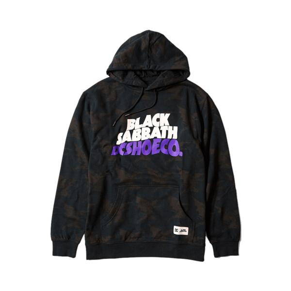 Mens DC x Black Sabbath Hoodie - Black