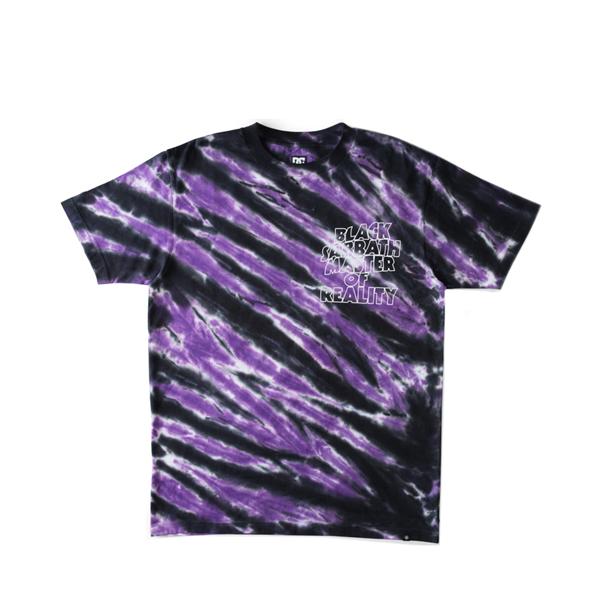 Mens DC x Black Sabbath Master of Reality Tee - Purple Tie Dye