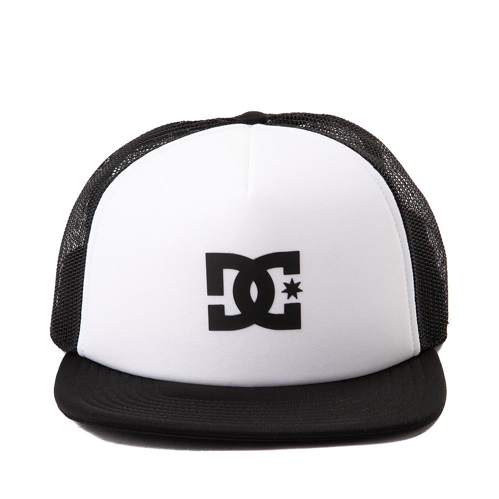 DC Gas Station Trucker Hat - White / Black