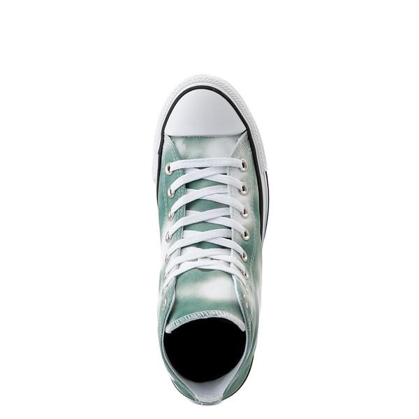 alternate view Womens Converse Chuck Taylor All Star Hi Muted Cloud-Wash Sneaker - Cool SageALT2