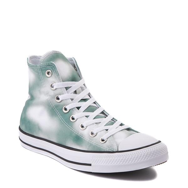 alternate view Womens Converse Chuck Taylor All Star Hi Muted Cloud-Wash Sneaker - Cool SageALT5