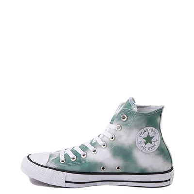 Alternate view of Womens Converse Chuck Taylor All Star Hi Muted Cloud-Wash Sneaker - Cool Sage