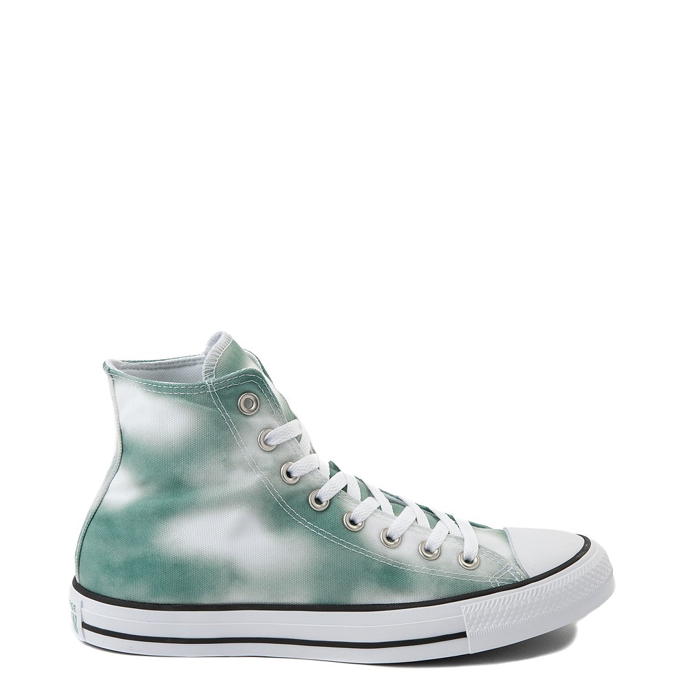 Womens Converse Chuck Taylor All Star Hi Muted Cloud-Wash Sneaker - Cool Sage