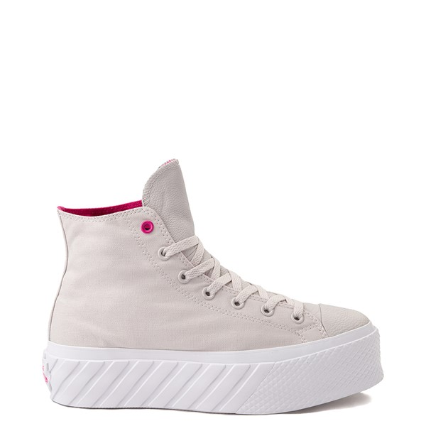 Main view of Womens Converse Chuck Taylor All Star Surface Fusion Platform 2X Sneaker - Pale Putty