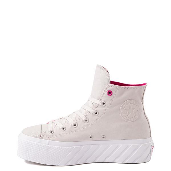 alternate view Womens Converse Chuck Taylor All Star Surface Fusion Platform 2X Sneaker - Pale PuttyALT1