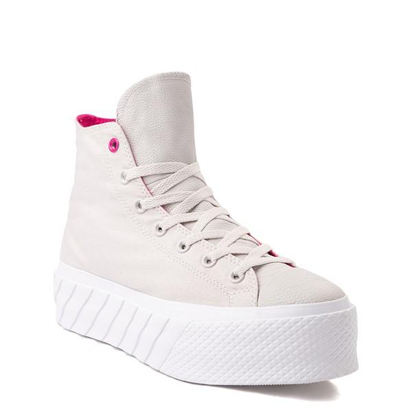 alternate view Womens Converse Chuck Taylor All Star Surface Fusion Platform 2X Sneaker - Pale PuttyALT5