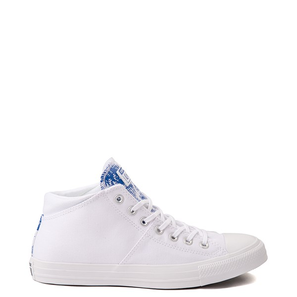 Main view of Womens Converse Chuck Taylor All Star Madison Floral Fusion Hi Sneaker - White / Royal Blue