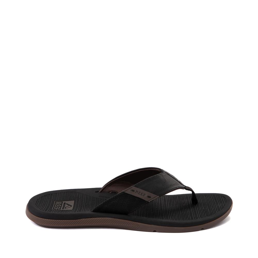 Mens Reef Santa Ana Sandal - Black