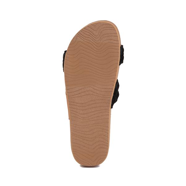 alternate view Womens Reef Cushion Vista Thread Sandal - BlackALT3