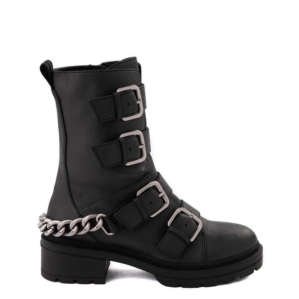 Womens Rocket Dog Icon Biker Boot - Black