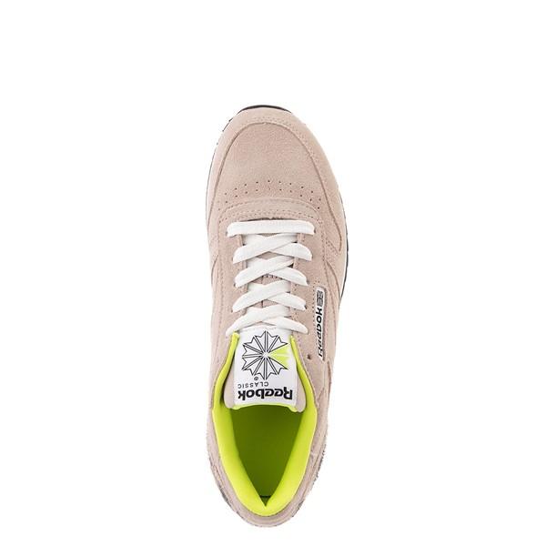 alternate view Womens Reebok Classic Leather Ripple Athletic Shoe - Modern Beige / LeopardALT2