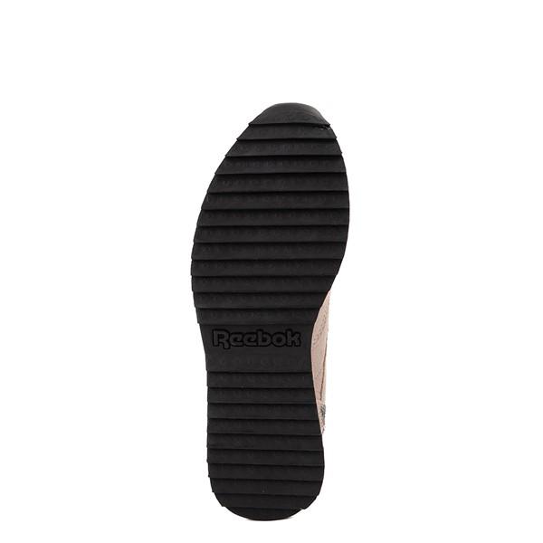alternate view Womens Reebok Classic Leather Ripple Athletic Shoe - Modern Beige / LeopardALT3