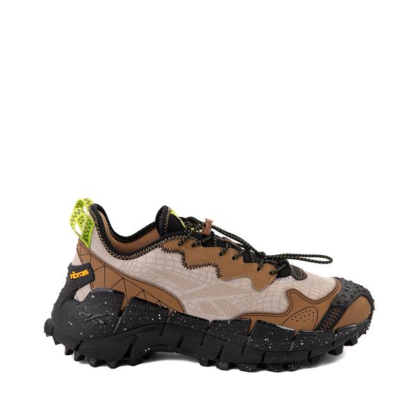 Main view of Mens Reebok Zig Kinetica II Edge Athletic Shoe - Modern Beige / Sepia