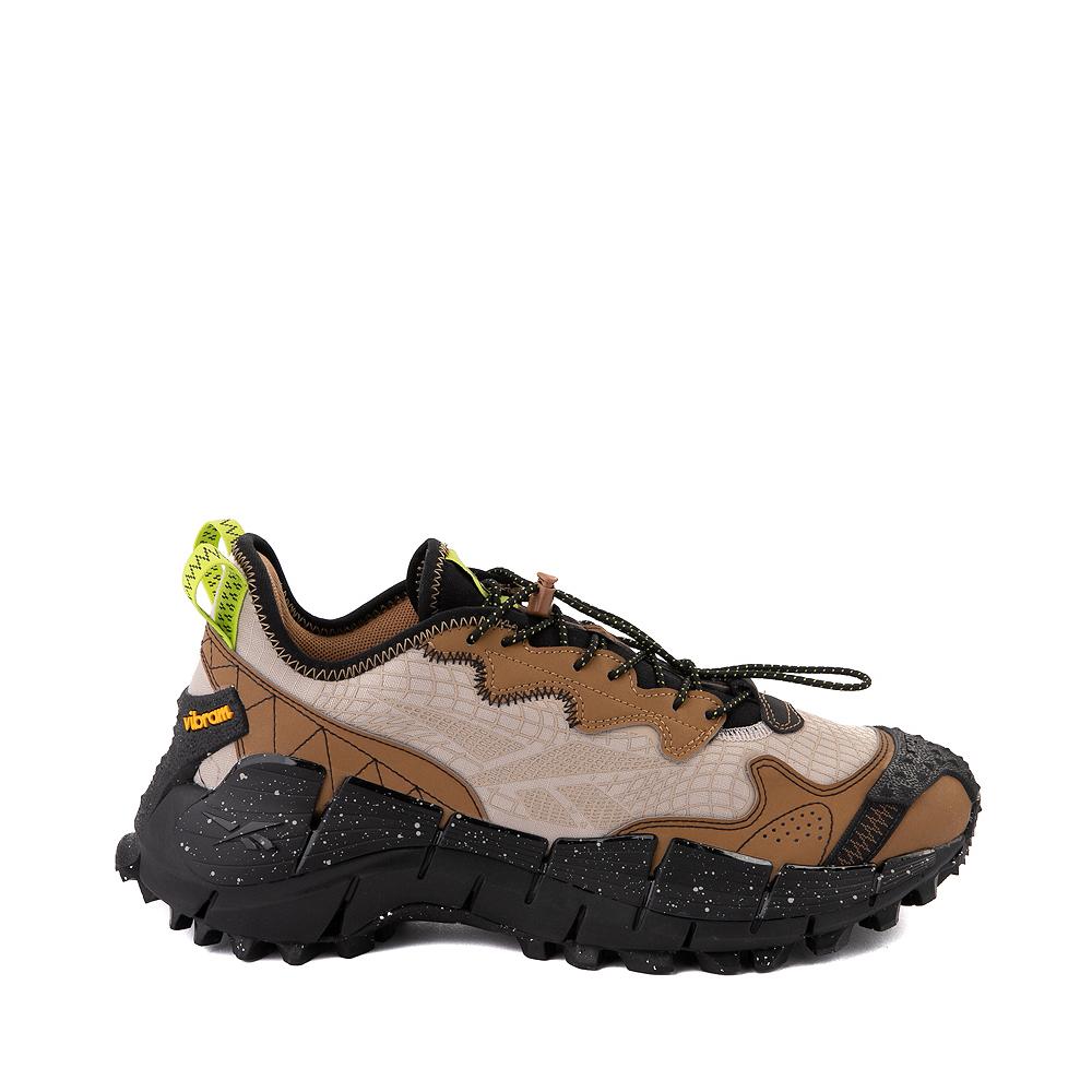 Mens Reebok Zig Kinetica II Edge Athletic Shoe - Modern Beige / Sepia