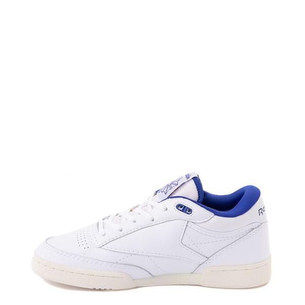 alternate view Reebok Club C Mid II Vintage Athletic Shoe - White / Bright CobaltALT1