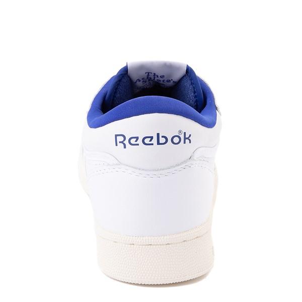 alternate view Reebok Club C Mid II Vintage Athletic Shoe - White / Bright CobaltALT4