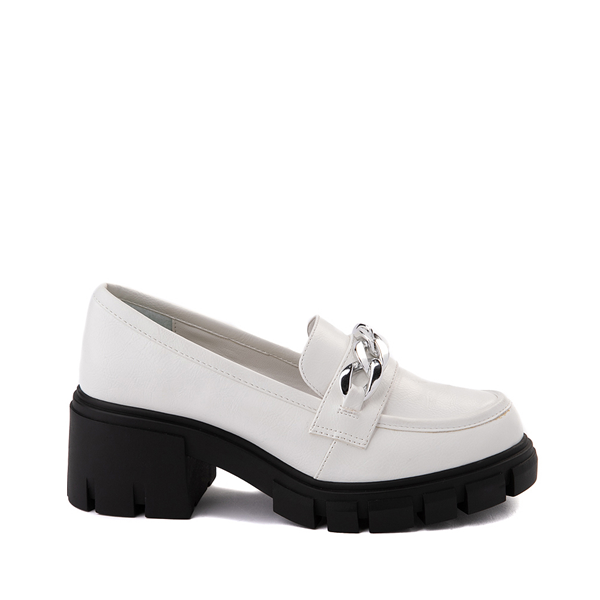 Womens Dirty Laundry Nirvana Chill Casual Shoe - White