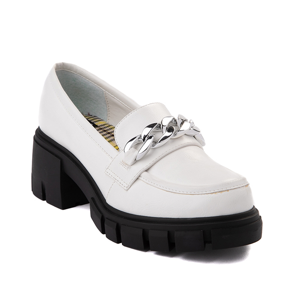 alternate view Womens Dirty Laundry Nirvana Chill Casual Shoe - WhiteALT5