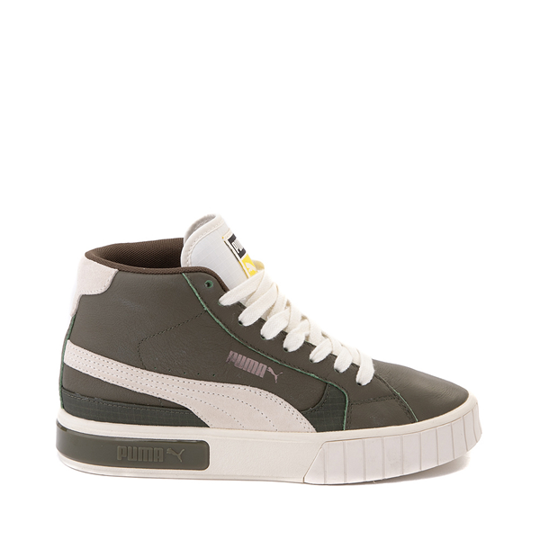 Main view of Womens Puma Cali Star Mid Athletic Shoe - Olive / Marshmallow