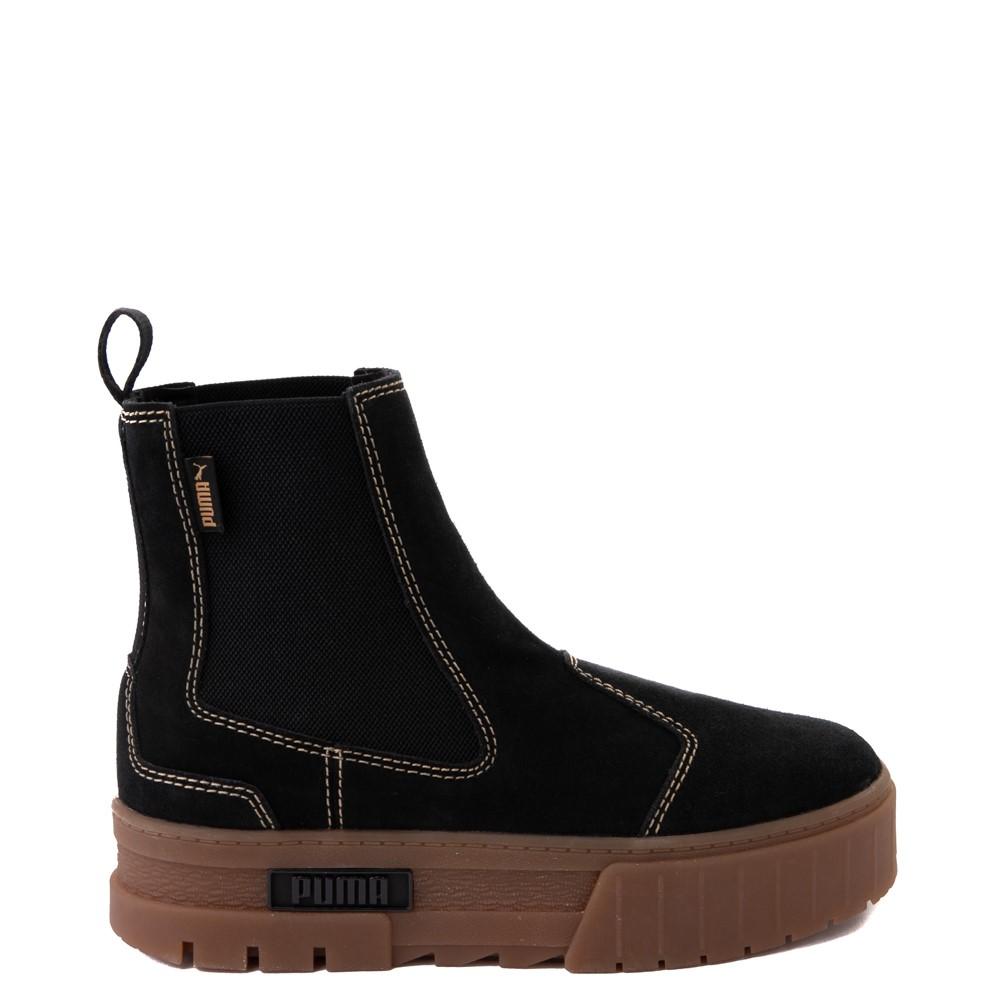Womens Puma Mayze Platform Chelsea Boot - Black