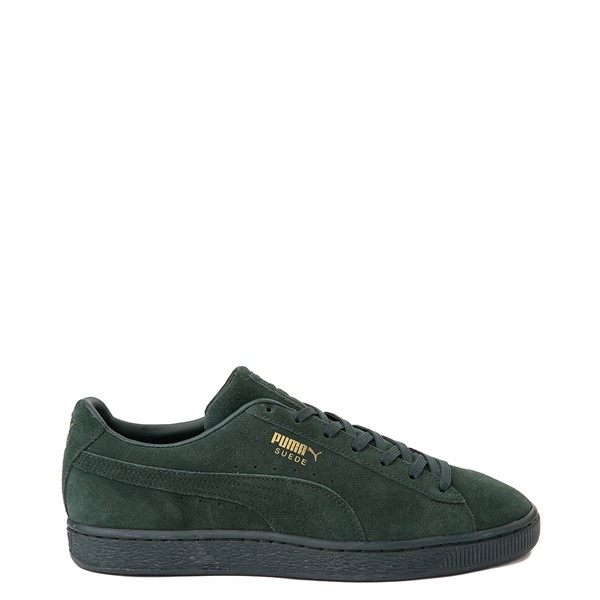 Main view of Mens Puma Suede Classic XXI Athletic Shoe - Forest Green Monochrome