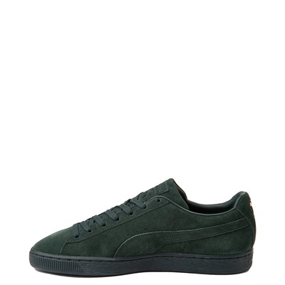 Alternate view of Mens Puma Suede Classic XXI Athletic Shoe - Forest Green Monochrome