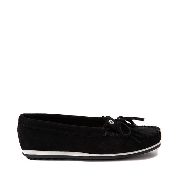 Main view of Womens Minnetonka Kilty Plus Casual Shoe - Black
