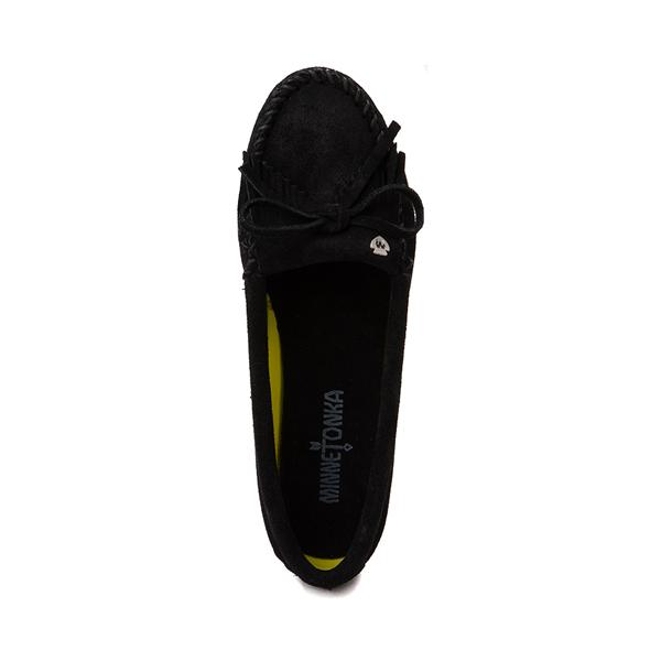 alternate view Womens Minnetonka Kilty Plus Casual Shoe - BlackALT2