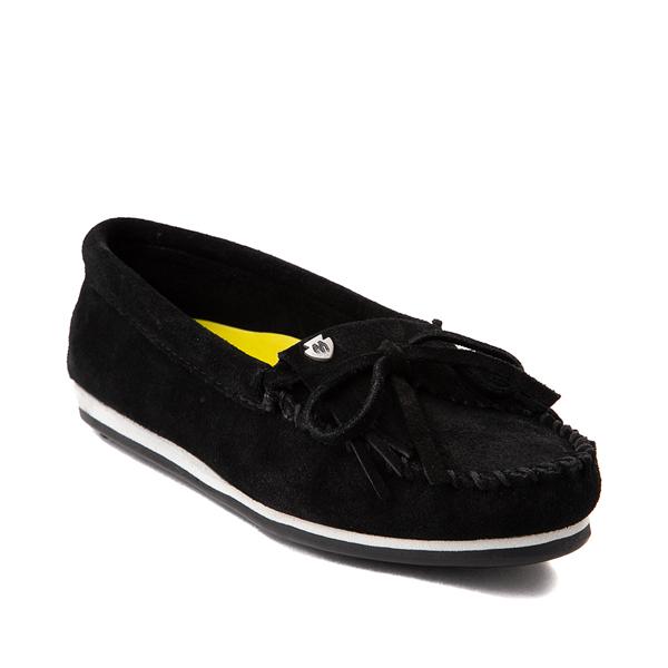 alternate view Womens Minnetonka Kilty Plus Casual Shoe - BlackALT5
