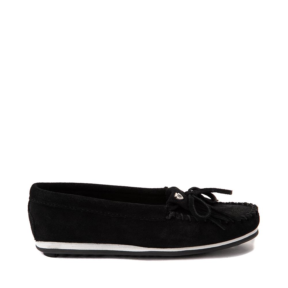 Womens Minnetonka Kilty Plus Casual Shoe - Black