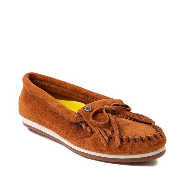 alternate view Womens Minnetonka Kilty Plus Casual Shoe - BrownALT5