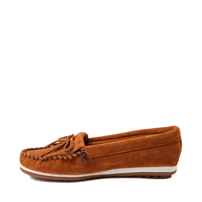 Alternate view of Womens Minnetonka Kilty Plus Casual Shoe - Brown