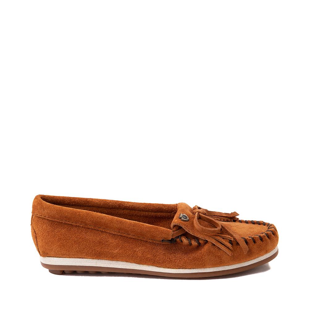 Womens Minnetonka Kilty Plus Casual Shoe - Brown
