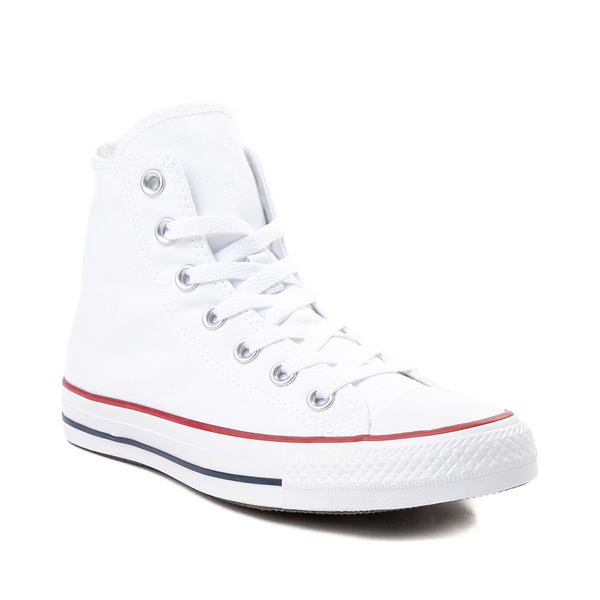 alternate view Converse Chuck Taylor All Star Hi Sneaker - Optical WhiteALT5