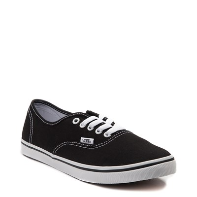 Alternate view of Black Vans Authentic Lo Pro Skate Shoe