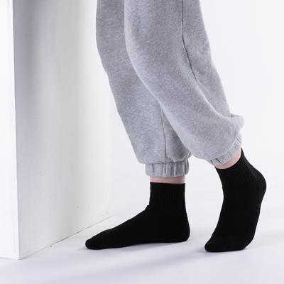 Alternate view of Womens Quarter Socks 5 Pack - Black