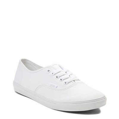 Alternate view of White Vans Authentic Lo Pro Skate Shoe