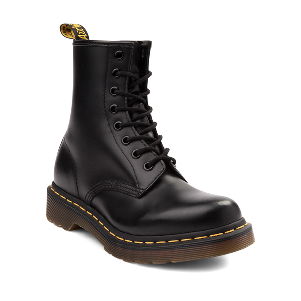 alternate view Womens Dr. Martens 1460 8-Eye Boot - BlackALT5