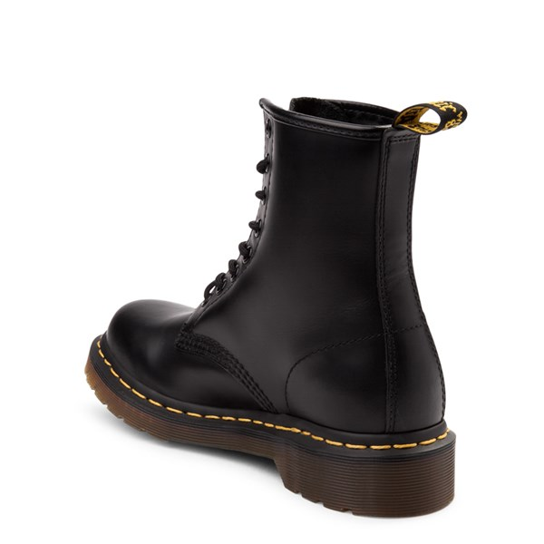 alternate view Womens Dr. Martens 1460 8-Eye Boot - BlackALT2