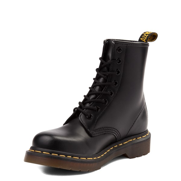 alternate view Womens Dr. Martens 1460 8-Eye Boot - BlackALT3