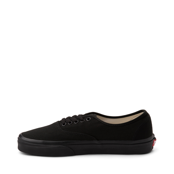 alternate view Vans Authentic Skate Shoe - Black MonochromeALT1