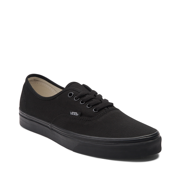alternate view Vans Authentic Skate Shoe - Black MonochromeALT5