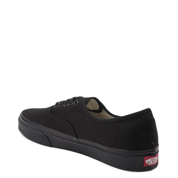 alternate view Vans Authentic Skate Shoe - Black MonochromeALT2