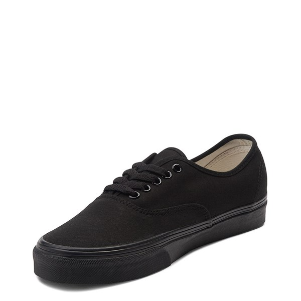 alternate view Vans Authentic Skate Shoe - Black MonochromeALT3