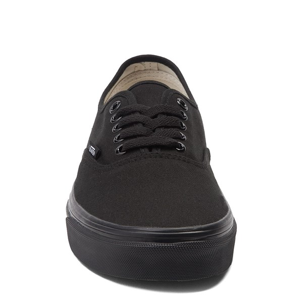 alternate view Vans Authentic Skate Shoe - Black MonochromeALT4